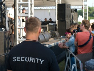 Image of Concert Security.