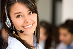 Image of Female Receptionist